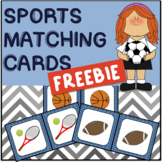 {FREEBIE}  Sports-themed Matching Cards