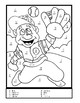 Sports Math Addition and Subtraction Coloring Sheets
