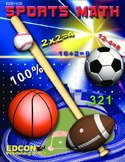 Sports Math Lesson 4 Subtraction, Tackling Differences, football