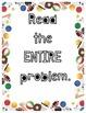 Sports Math Problem Solving Steps