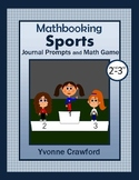Summer Olympics Math Journal Prompts (2nd & 3rd grade)