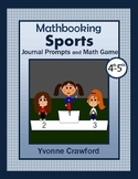 Summer Sports Math Journal Prompts (4th & 5th grade)
