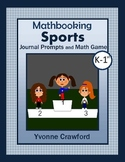 Summer Sports Math Journal Prompts (kindergarten & 1st grade)