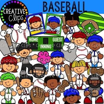 Sports Mega Bundle {Creative Clips Clipart}
