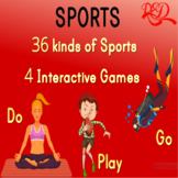 Sports Theme ❘ Kindergarten Lesson ❘ PowerPoint ❘ Games