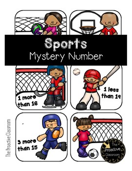 Sports Mystery Number --Build Number Sense!