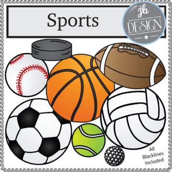 Sports Pack (JB Design Clip Art for Personal or Commercial Use)