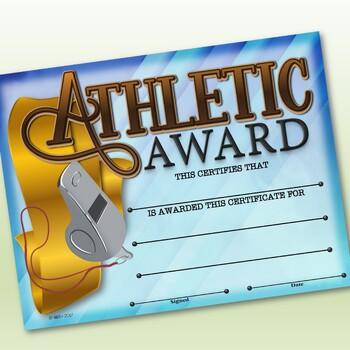Sports Participation Certificates