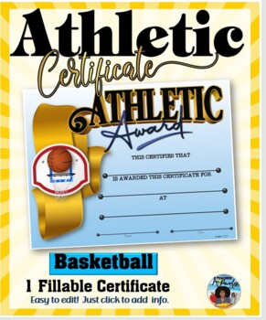Certificate - Sports Participation …Basketball