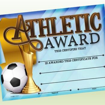 Certificate - Sports Participation …Soccer