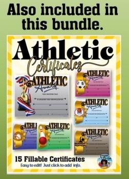 Certificate - Sports Participation …Tennis