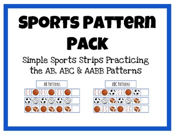 Sports Pattern Practice for Pre-K and K