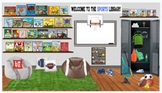 Sports/Physical Education/Gym Virtual Library-Editable