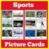 Sports | Preschool Kindergarten 1st Grade | ESL | Picture