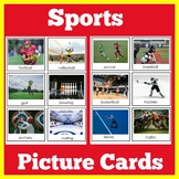 Sports Theme Picture Cards