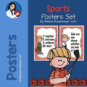 Sports Poster Set
