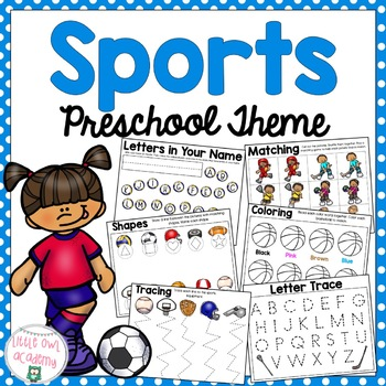 Sports Preschool Packet