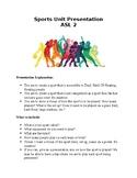 Sports Presentation ASL