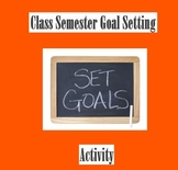 Sports-Related Goal Setting Activity - PowerPoint Presentation