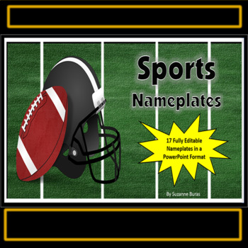 Sports-Related Nameplates