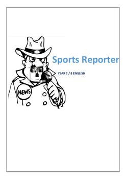Sports Reporter English Writing Activity