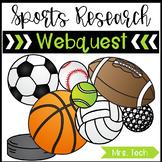 Sports Research Webquest