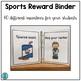 Sports Reward Binder (Positive Behavior Incentive Program)