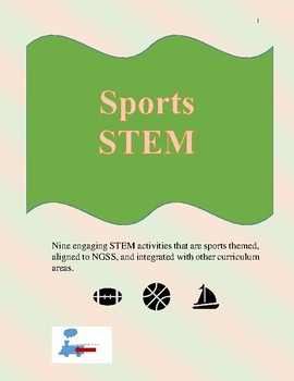 Sports STEM Bundle - 9 complete NGSS Aligned lessons for g
