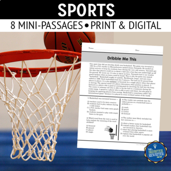 Sports Short Reading Passages