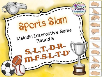 Sports Slam - Round 8 (S,-L,-T,-D-R-M-F-S-L-T-D')