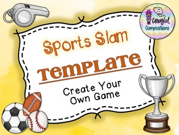 Sports Slam Template  - Create Your Own Game