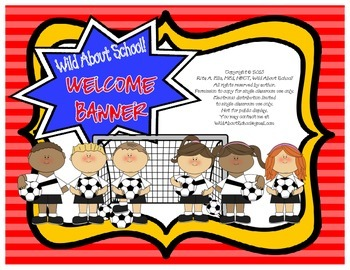 Sports - Soccer Welcome Banner