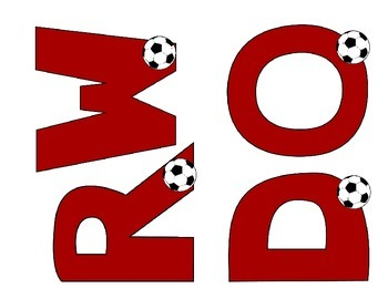 Sports Soccer Word Wall Set