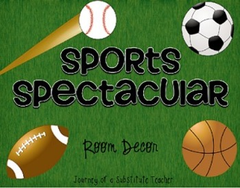 Sports Spectacular  Room Decor Pack