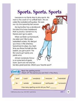 Sports, Sports, Sports
