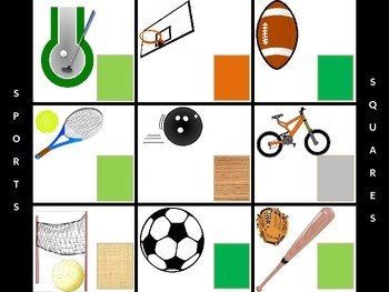 Sports Squares - Hollywood Squares Style Review Game