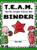 Sports TEAM Binder Covers