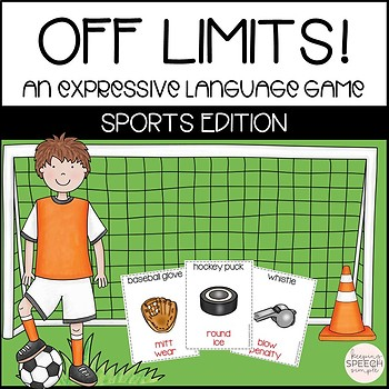 Off Limits - An Expressive Language Game Sports Edition