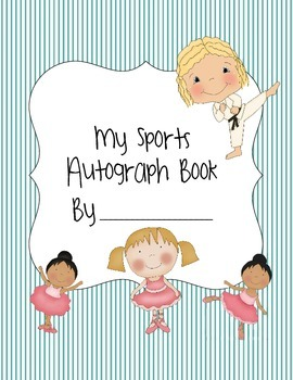 Sports Team Autograph Book