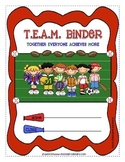Sports {Team} Binder Cover