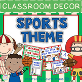 Sports Theme - Classroom Decor