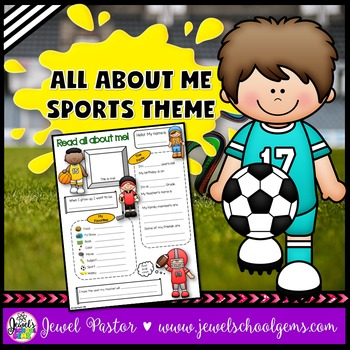 All About Me Sports Theme