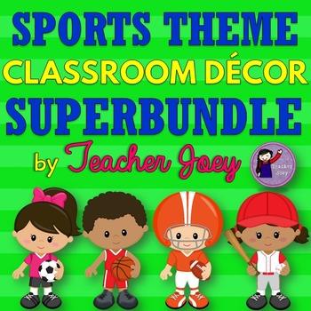 Sports Theme Classroom Decor