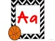 Sports Theme Alphabet for the Classroom Wall