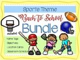 Sports Theme Back to School BUNDLE