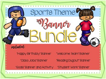 Sports Theme Banner Bundle