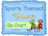 Sports Theme Behavior Clip Chart
