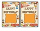 Sports Theme Birthday Certificates