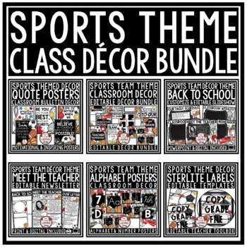 Sports Theme Classroom Decor  • Sports Classroom Decor