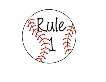Sports Theme Class Rules
